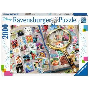 Ravensburger - Puzzle Kolekcja znaczków pocztowych 2000 elem. 167067