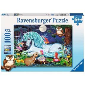 Ravensburger - Puzzle XXL W magicznym lesie 100 elem. 107933