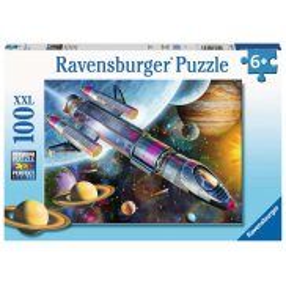 Ravensburger - Puzzle XXL Misja w kosmosie 100 elem. 129393