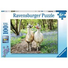 Ravensburger - Puzzle XXL Przyjaźń zwierząt 100 elem. 129416