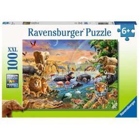 Ravensburger - Puzzle XXL Studnia w dżungli 100 elem. 129102