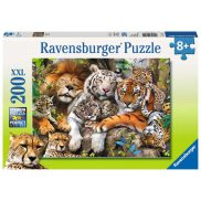 Ravensburger - Puzzle XXL Dzikie koty 200 elem. 127214