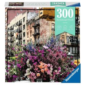 Ravensburger - Puzzle Moment Kwiaty w Nowym Jorku 300 elem. 129645