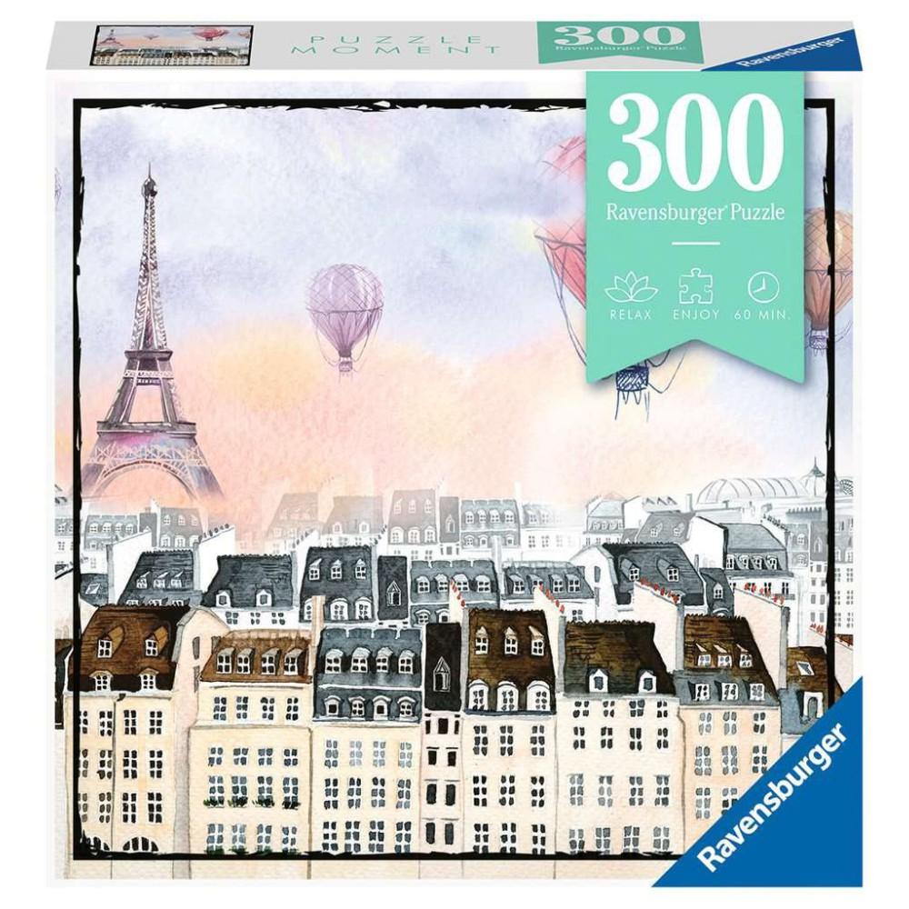 Ravensburger - Puzzle Moment Paryż 300 elem. 129683