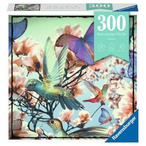Ravensburger - Puzzle Moment Koliber i motyle 300 elem. 129690