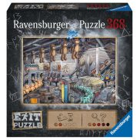 Ravensburger - Puzzle Exit Fabryka zabawek 368 elem. 164844