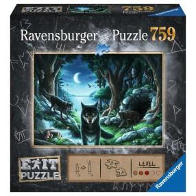 Ravensburger - Puzzle Exit Wilk 759 elem. 150281