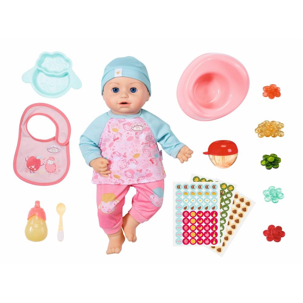 Baby Annabell - Lalka funkcyjna Dziewczynka 43 cm Czas na obiad 702987