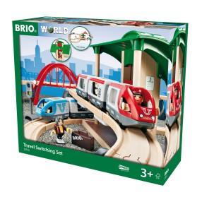 Brio Kolejka - Pociąg osobowy z dworcem 33512