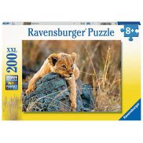 Ravensburger - Puzzle XXL Mały lew 200 elem. 129461