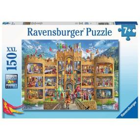 Ravensburger - Puzzle XXL Widok na zamek rycerski 150 elem. 129195