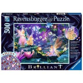Ravensburger - Puzzle Diamentowe: W bajkowym lesie 500 elem. 148820