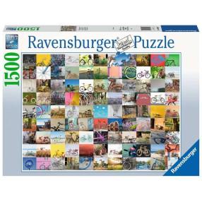 Ravensburger - Puzzle 99 rowerów 1500 elem. 160075