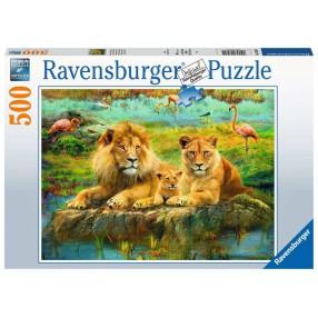 Ravensburger - Puzzle Dzika przyroda 500 elem. 165841