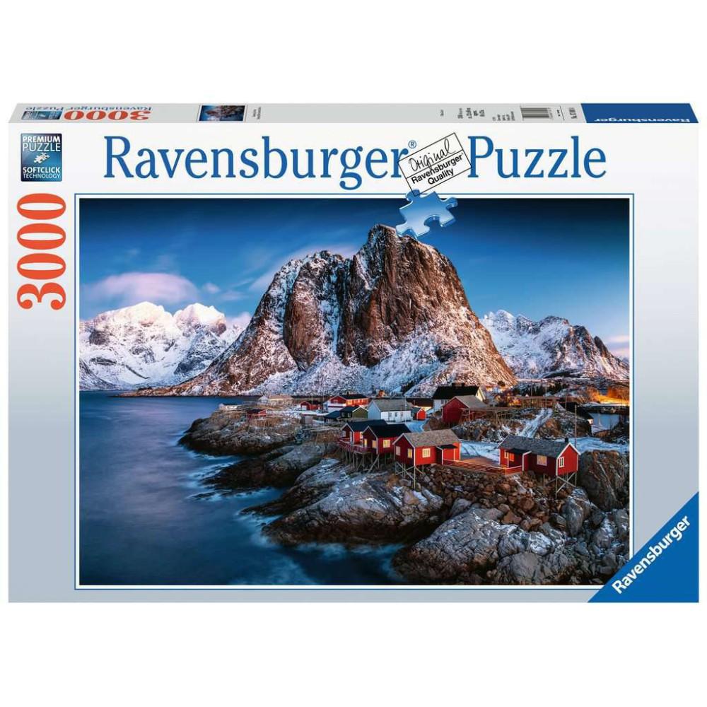Ravensburger - Puzzle Hamnoy, Lofoty 3000 elem. 170814