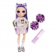 Rainbow High - Lalka Cheerleaderka Violet Willow 572084