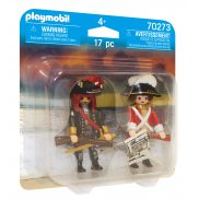 Playmobil - Duo Pack Pirat i oficer Rotrock 70273