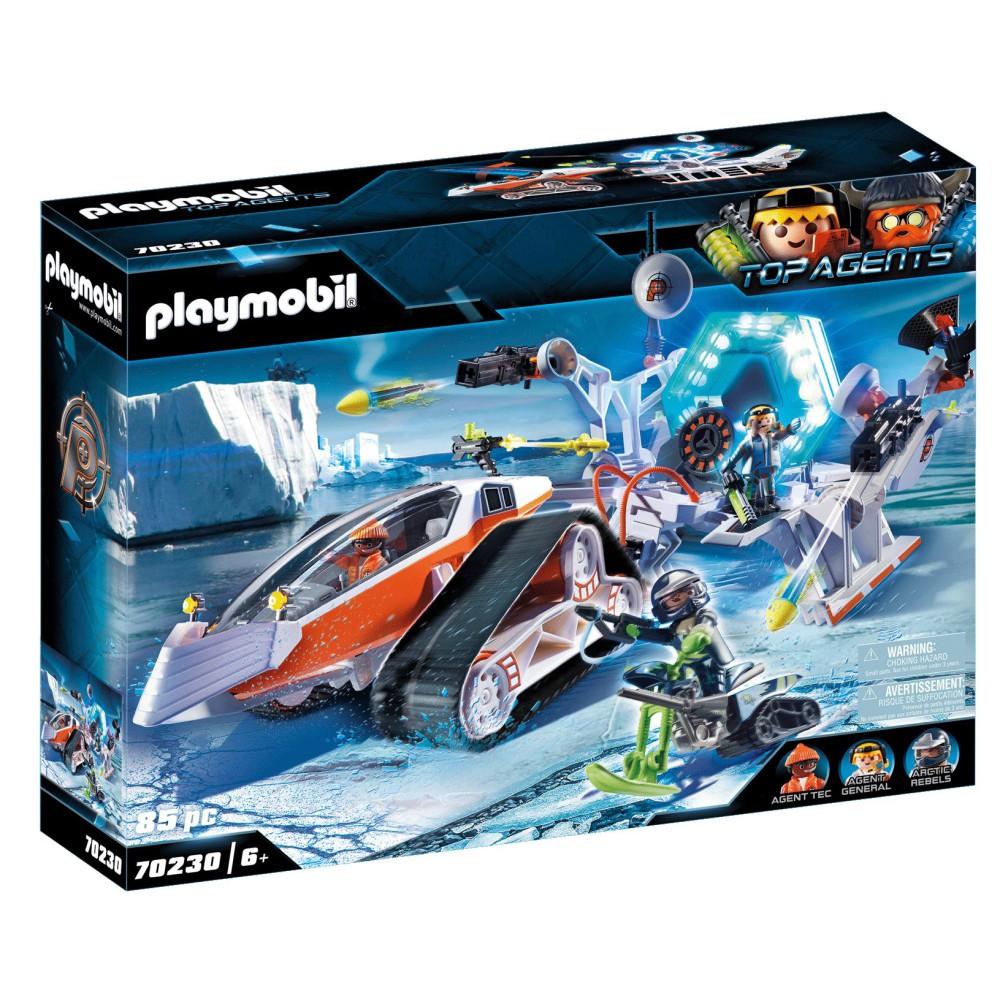 Playmobil - SPY TEAM Pojazd gąsienicowy 70230