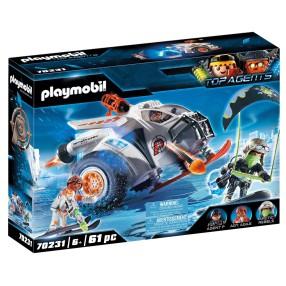 Playmobil - SPY TEAM Pojazd śnieżny 70231