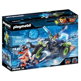 Playmobil - Arktyczni rebelianci Lodowy trójkołowiec 70232
