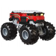 Hot Wheels Monster Trucks - Metalowy Pojazd 5 Alarm Fire Dept. Skala 1:24 GBV34