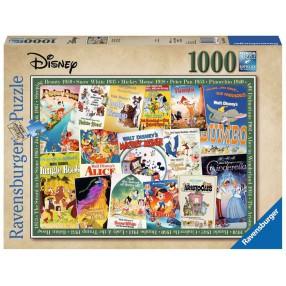 Ravensburger - Puzzle Stare plakaty z filmów Disney 1000 elem. 198740