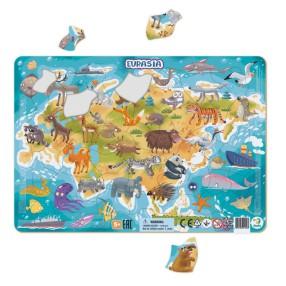 Dodo - Puzzle ramkowe Eurazja 53 el. 300174