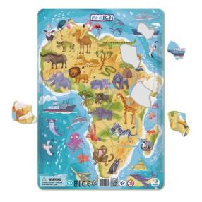 Dodo - Puzzle ramkowe Afryka 53 el. 300175
