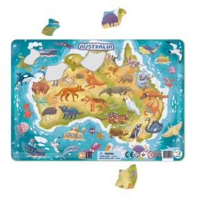 Dodo - Puzzle ramkowe Australia 53 el. 300179