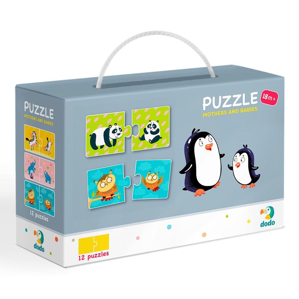 Dodo - Puzzle Duo Mamy i Dzieci 12x2 el. 300150