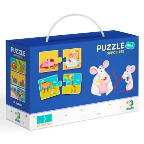 Dodo - Puzzle Duo Przeciwieństwa 12x2 el. 300151