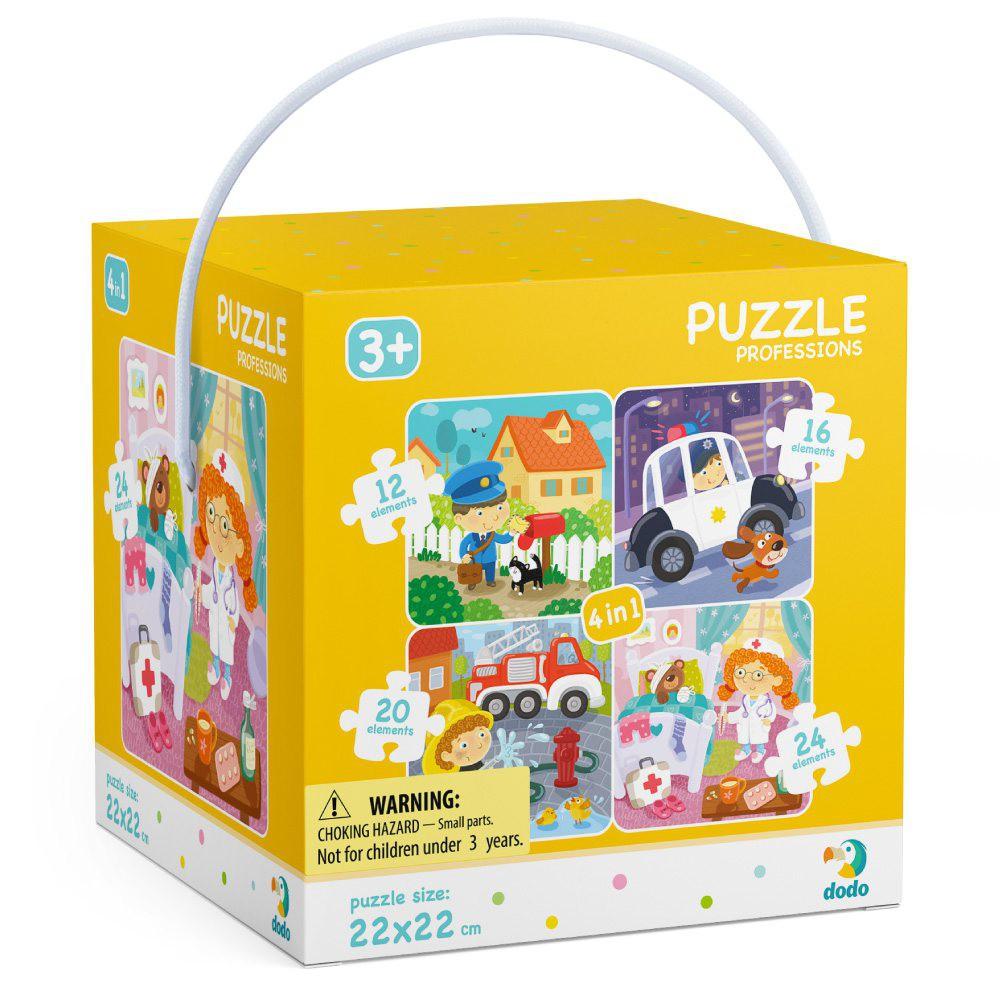 Dodo - Puzzle 4w1 Moje Zawody 12-16-20-24 el. 300131