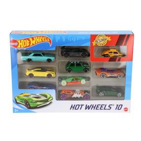 Hot Wheels - Małe samochodziki Dziesięciopak 10-pak 54886 79