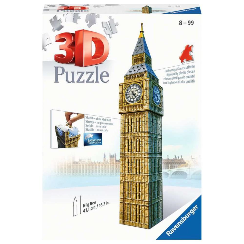 Ravensburger - Puzzle 3D Big Ben 125548