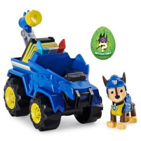 Psi Patrol Dino Rescue - Pojazd policyjny deluxe z figurką Chase + Tajemniczy Mini Dinozaur 20124740