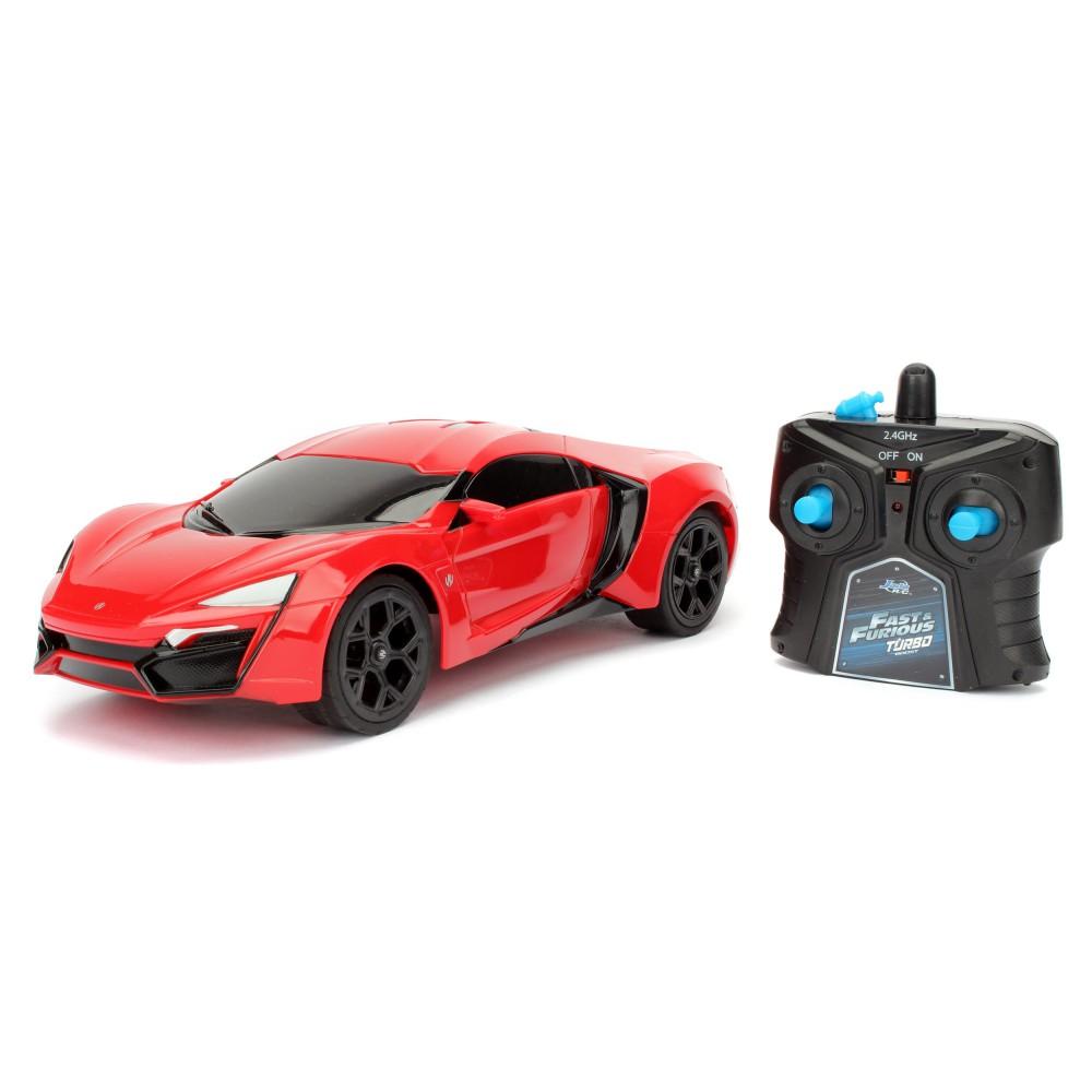 Jada RC - Samochód zdalnie sterowany Szybcy i Wściekli Lykan Hypersport 2.4GHz 1:16 3206005