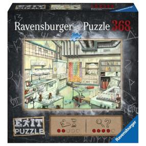 Ravensburger - Puzzle Exit Laboratorium 368 elem. 167838