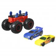 Hot Wheels Monster Trucks - Pojazd Monster Maker Czerwony GWW14