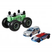 Hot Wheels Monster Trucks - Pojazd Monster Maker Zielony GWW15