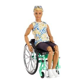 Barbie Fashionistas - Lalka Ken na wózku inwalidzkim Nr 167 GWX93