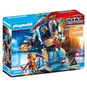 Playmobil - Policyjny robot: Akcja specjalna 70571