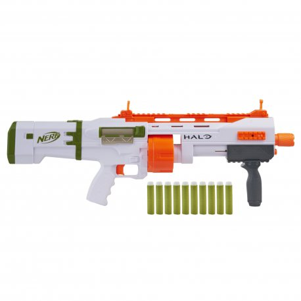 Hasbro Nerf - Wyrzutnia Halo Bulldog SG + 10 strzałek E9271