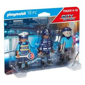 Playmobil - Zestaw figurek: Policjanci 70669
