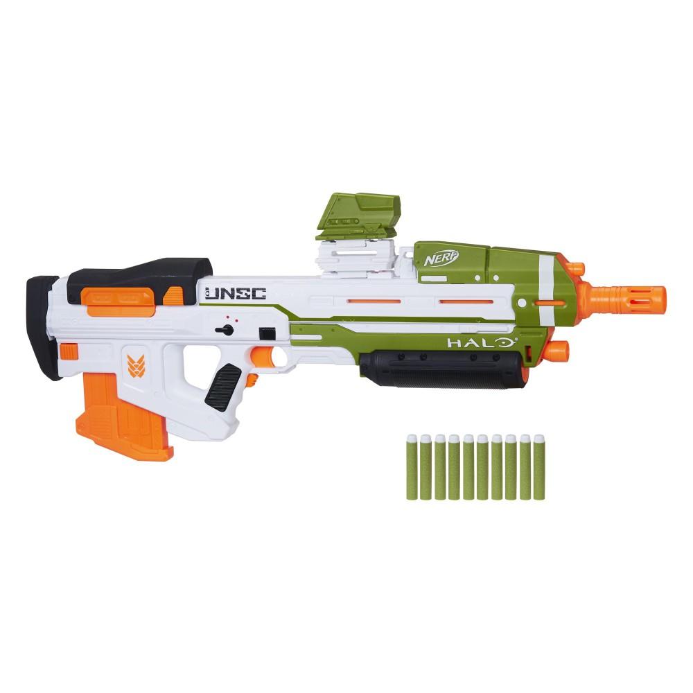 Hasbro Nerf - Wyrzutnia Halo MA40 Motorized + 10 strzałek E9262
