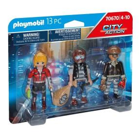 Playmobil - Zestaw figurek: Złodzieje 70670