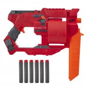 Hasbro Nerf - Wyrzutnia Halo Mangler + 6 strzałek E9273