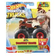Hot Wheels Monster Trucks - Metalowy pojazd Super Mario Donkey Kong GWK21