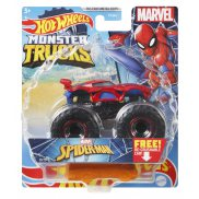 Hot Wheels Monster Trucks - Metalowy pojazd Spider-Man GWK23