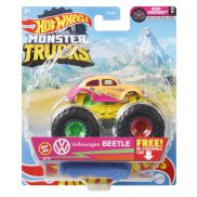 Hot Wheels Monster Trucks - Metalowy pojazd Volkswagen Beetle GTH59