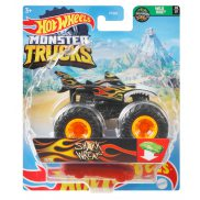 Hot Wheels Monster Trucks - Metalowy pojazd Shark Wreak GWK12
